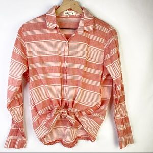 Anthropologie Lilli's Closet Muted Stripes Top